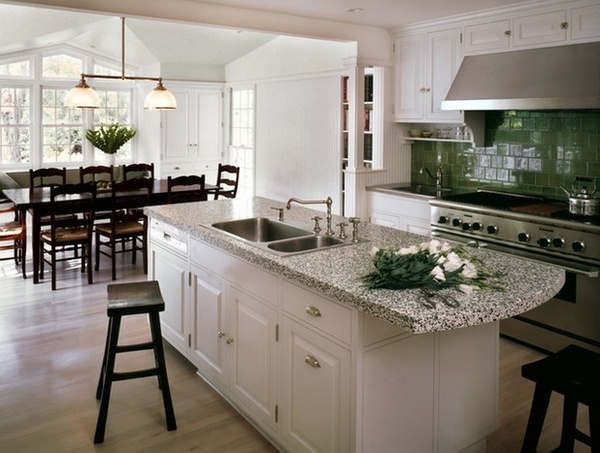 Amazing Andino White Granite Kitchen Countertop Ideas