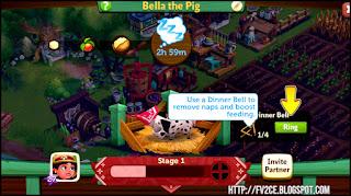FarmVille 2: Country Escape, Marie, Calvin, Farm, sleeping piglet