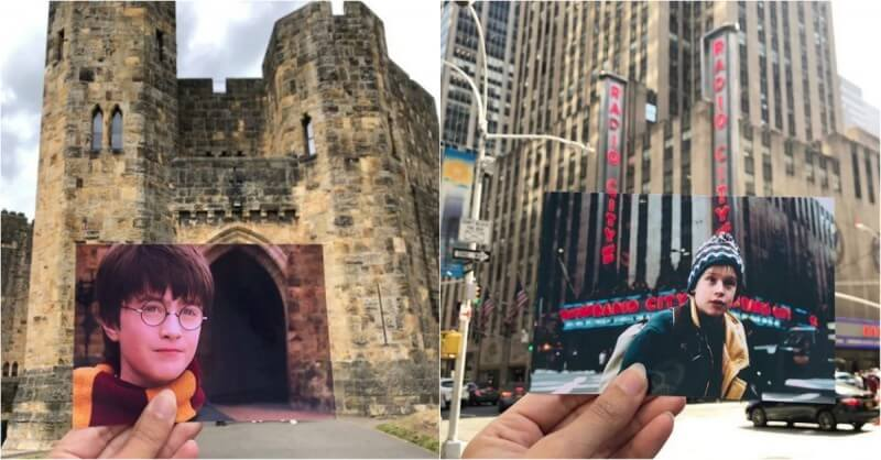 Blogger Travels Around The World And 'Revives' Popular Movies In Their Real-Life Locations