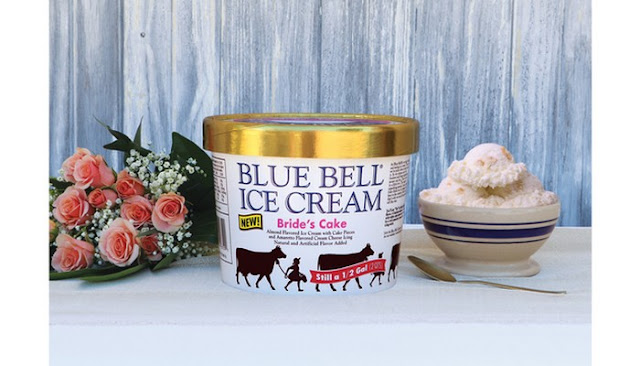 blue bell bride's cake ice cream near me