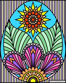 Egg coloring page- blank available in PNG and JPG format