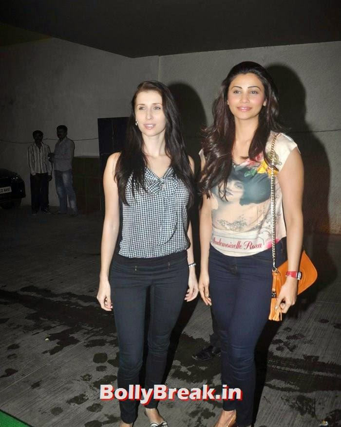 Claudia Ciesla, Daisy Shah, 'Ekkis Topon Ki Salami' Special Screening Photos
