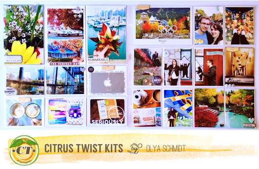 Citrus Twist Kits: Pocket Life with Olya