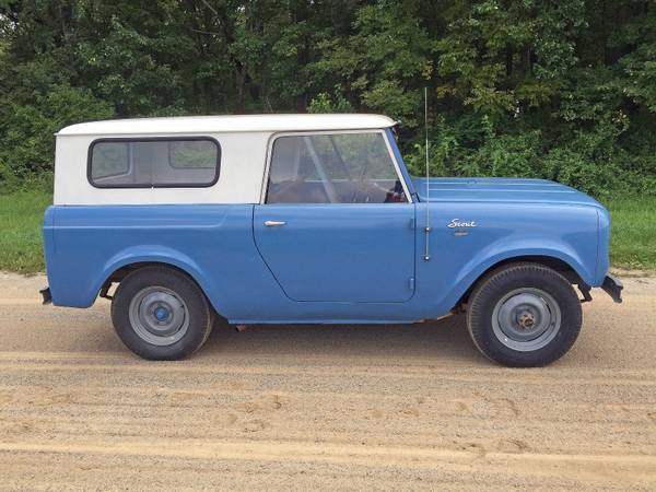 Great Example, 1961 Scout 80 4x4 - 4x4 Cars