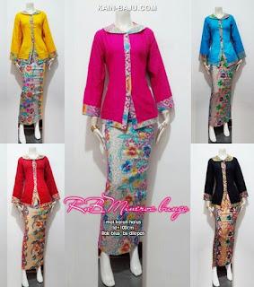 model baju batik setelan rok untuk orang gemuk