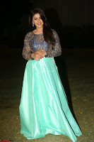Nikki Galrani in Green Skirt  Top at Marakathamani music launch ~  Exclusive (155).JPG