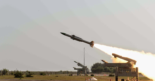 Surface-to-air Akash Missile Successfully Test
