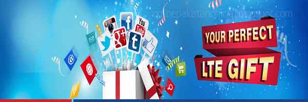 Gift Internet with Warid LTE Gift Offer