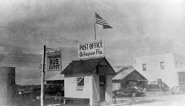 Nation's smallest Post Office in Ochopee, Florida, 194-