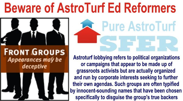 Image result for big education ape Astroturf