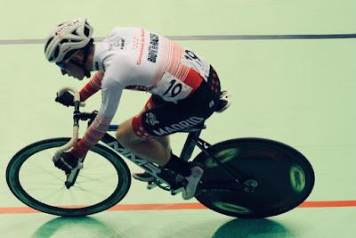 Javier Ureña ciclismo pista