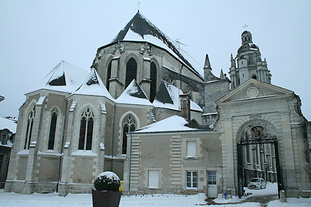 Evêche de Blois (Neige 05 février 2012)