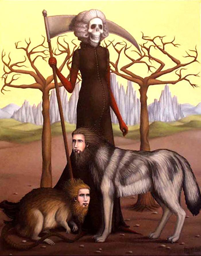 Ужасы древних мифов. Hugues Gillet 11