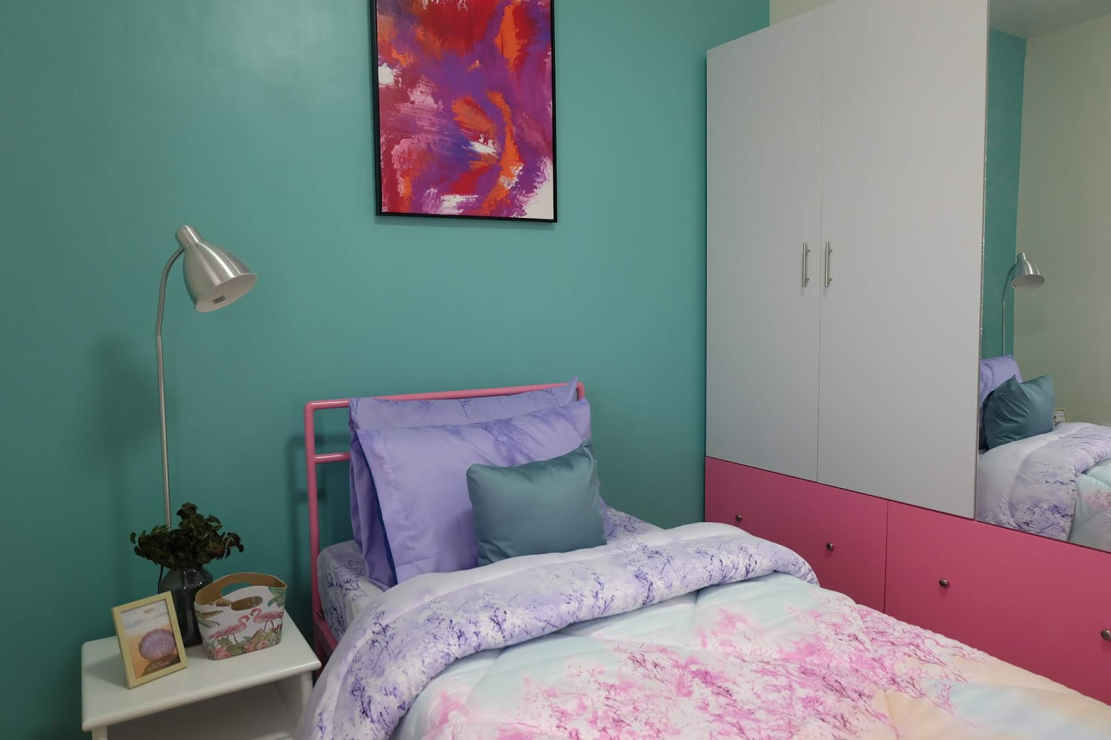 Mansfield Residences Bedroom of Mint Unit