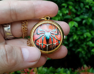 Jam Saku Spiderman P1053 Mini Quartz
