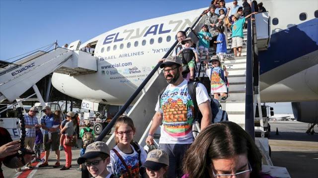 239 judíos emigran desde Norteamérica a territorios palestinos