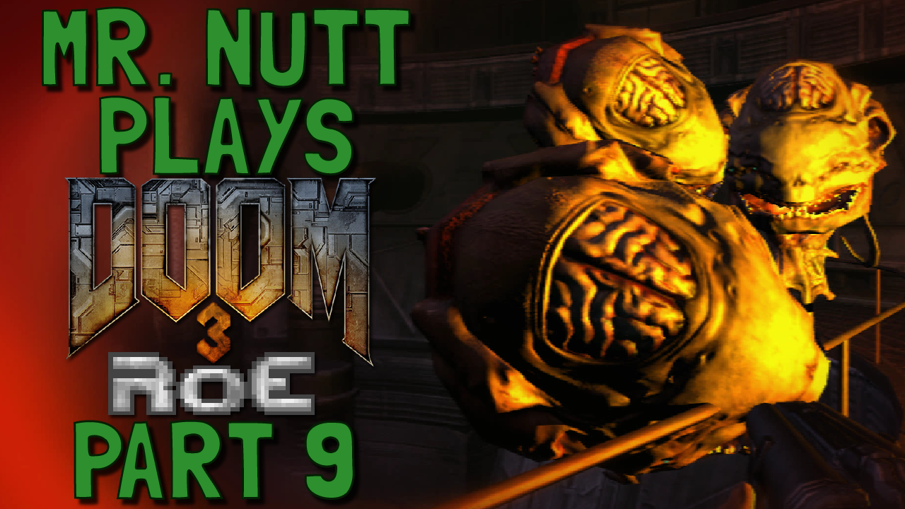 Mr  Nutt's Blog of Stuff: Let's Play: Doom 3: Resurrection of Evil