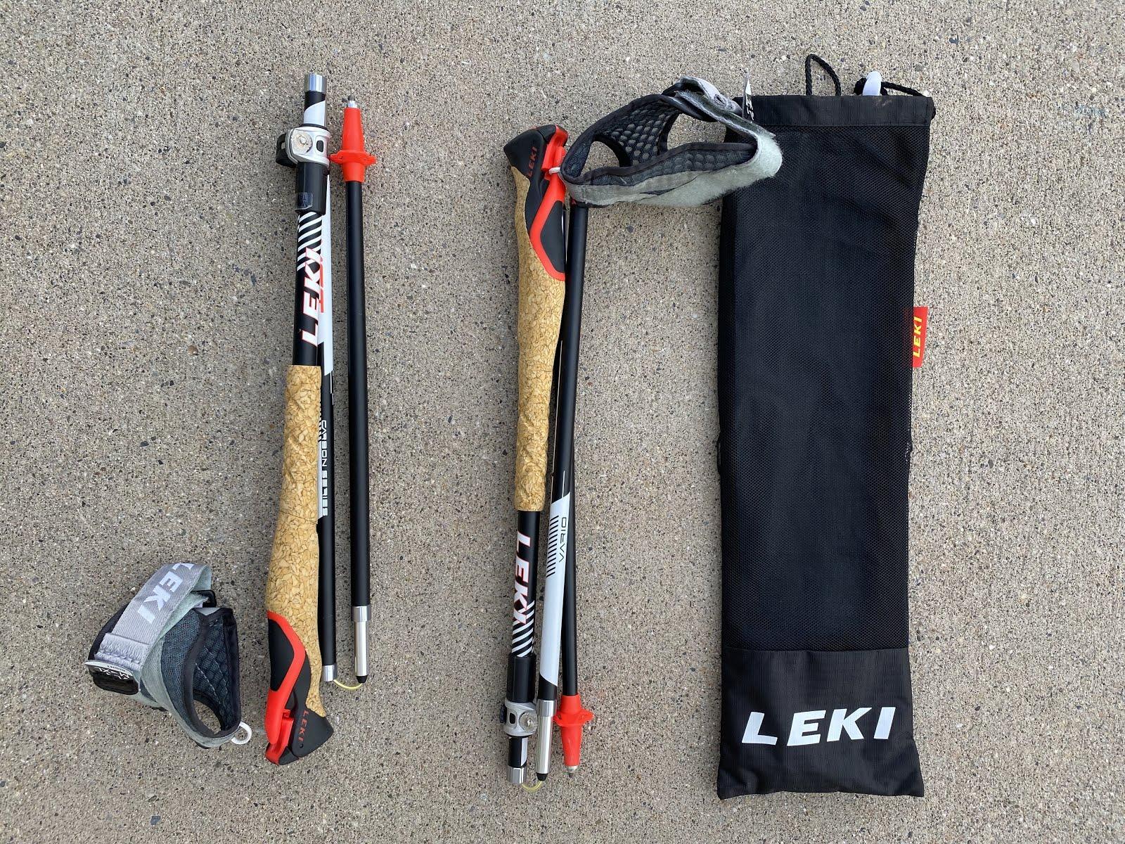 LEKI MCT Vario TA Trekking//Trail Running Poles