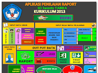 Download Aplikasi Raport K13 SD Revisi 2016
