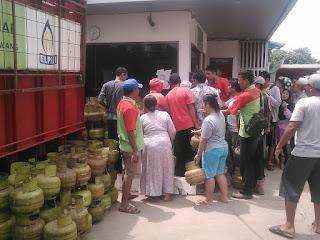 Gas Melon Tembus Rp 28000 Per Tabung, Pangkalan dan SPBU Lebih Memilih Jual Gas Kewarung dan Bumdes