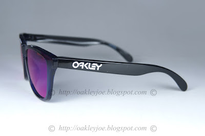 3b06e73a71d midnight blue orbital + positive red iridium  220 lens pre coated with Oakley  hydrophobic nano solution complete set comes with box and microfiber pouch
