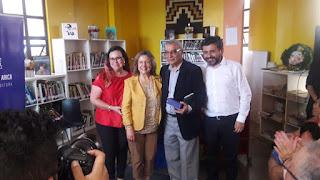 Exitosas alianzas concretó presidenta nacional del Colegio en visita a Arica y Parinacota