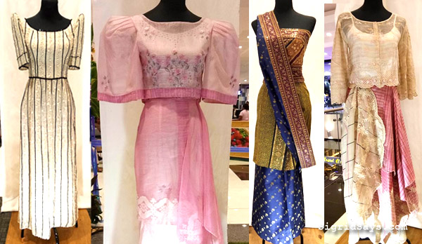 Filipiniana dresses - Patis Tesoro - National Heritage Month