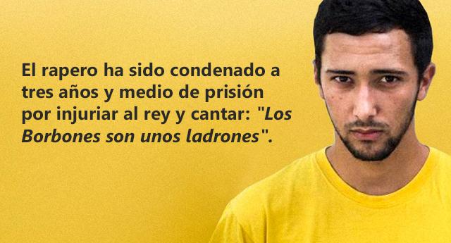 El rapero Valtonyc se escapa de España para no tener que entrar en prisión