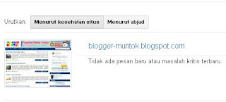 Cara Verifikasi Blog di Google