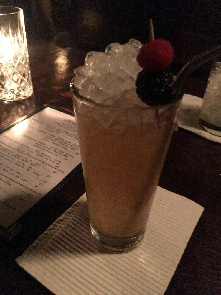 Dutch Kills Bar Drink