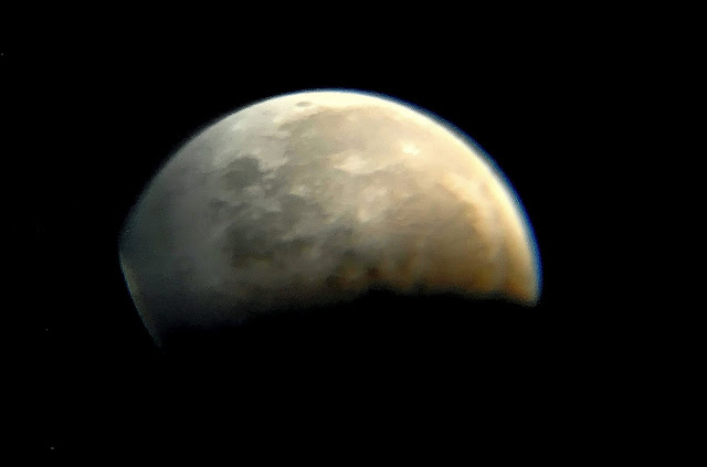 Lunar Eclipse - 31st Jan 2018 - Photos via Telescope