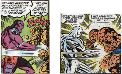 Fantastic Four 72 Where Soars Silver Surfer Kirby