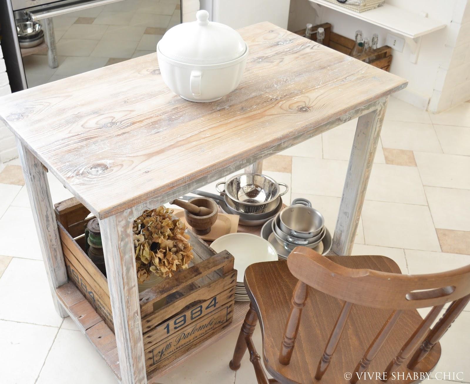 Tavolo Bancone Cucina | Tavolo Design In Legno Grezzo Narciso Arredo ...