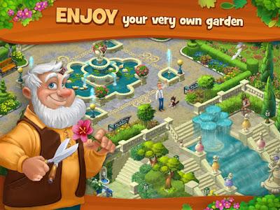 Gardenscapes screenshot 1