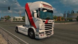 Toten Transport skin for Scania RJL