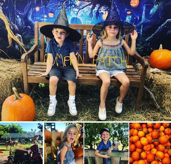 Princess Madeleine, Princess Adrienne, Prince Nicolas and Princess Leonore of Sweden. the Halloween theme. Princess Madeleine's children at Florida, Miami