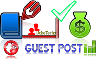 Guest post writing on uchetechs blog