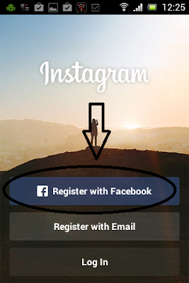 How to Register Instagram On Android 3