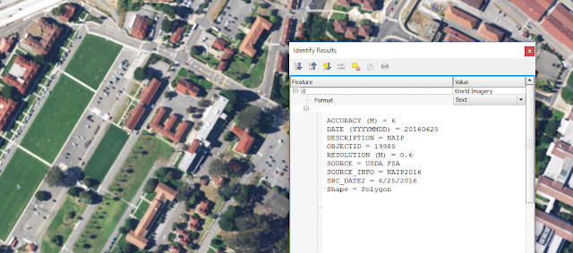 High resolution imagery from ArcGIS REST service
