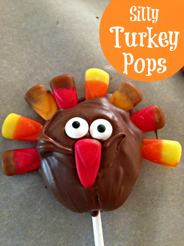 Silly Turkey Pops from This Mama Loves