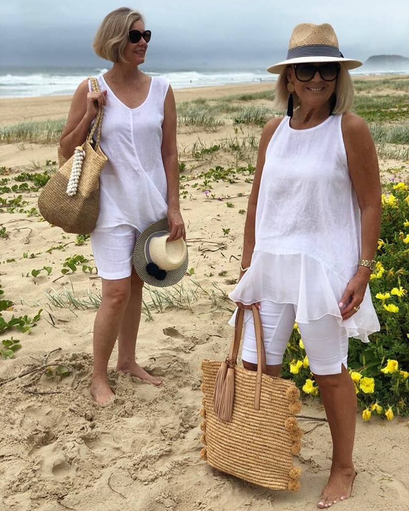 moda praia mulheres maduras