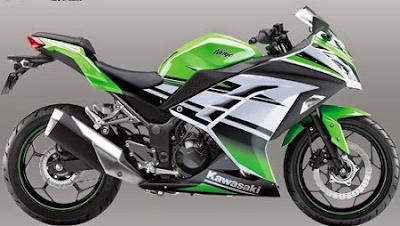 harga motor kawasaki ninja 300 terbaru