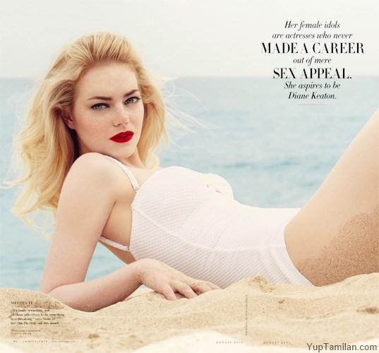 Emma-Stone-Sexy-Bikini-Pictures-HD-Wallpaper