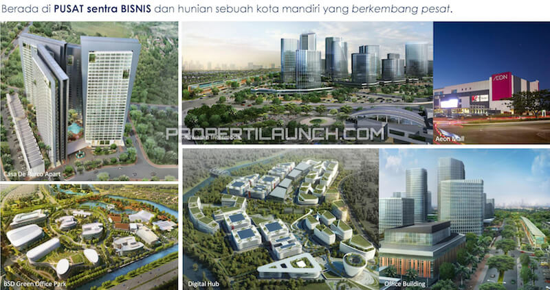 Sekitar Ruko The Icon Business Park BSD City