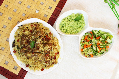 special biryani rice recipe with duck roasted ayeshas kitchen tasty rice and duck recipe