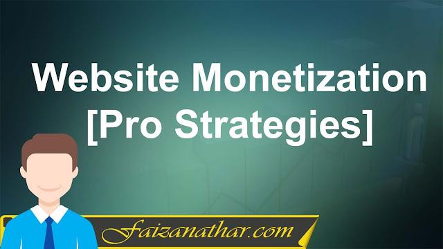 website monetization strategies