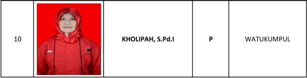 10 Kholipah SPdI