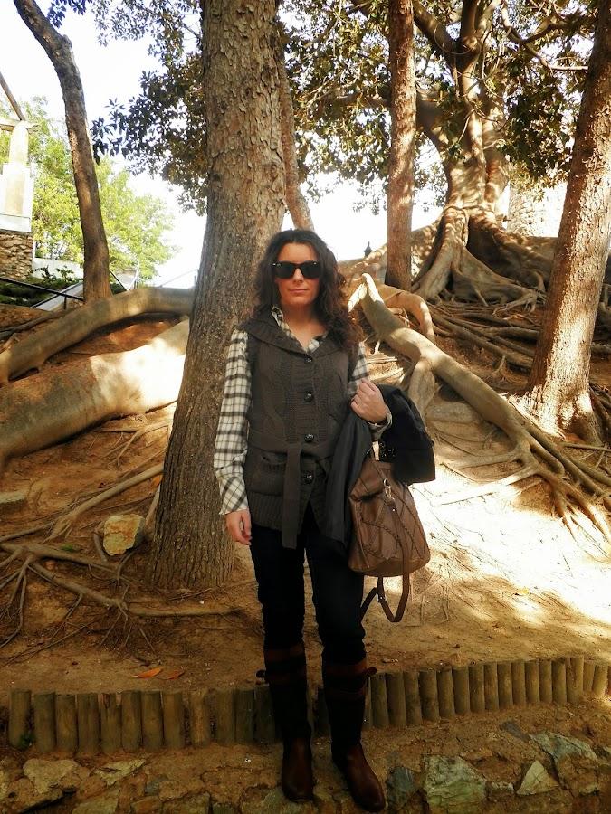 cartagena, blogger de moda, mi vestido azul
