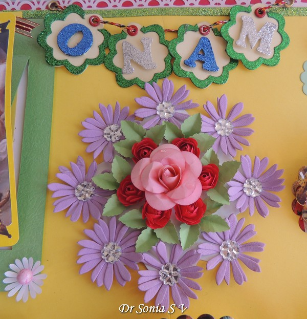 Punchcraft flowers also cards crafts kids projects festivals of india school project onam rh cardsandschoolprojectsspot