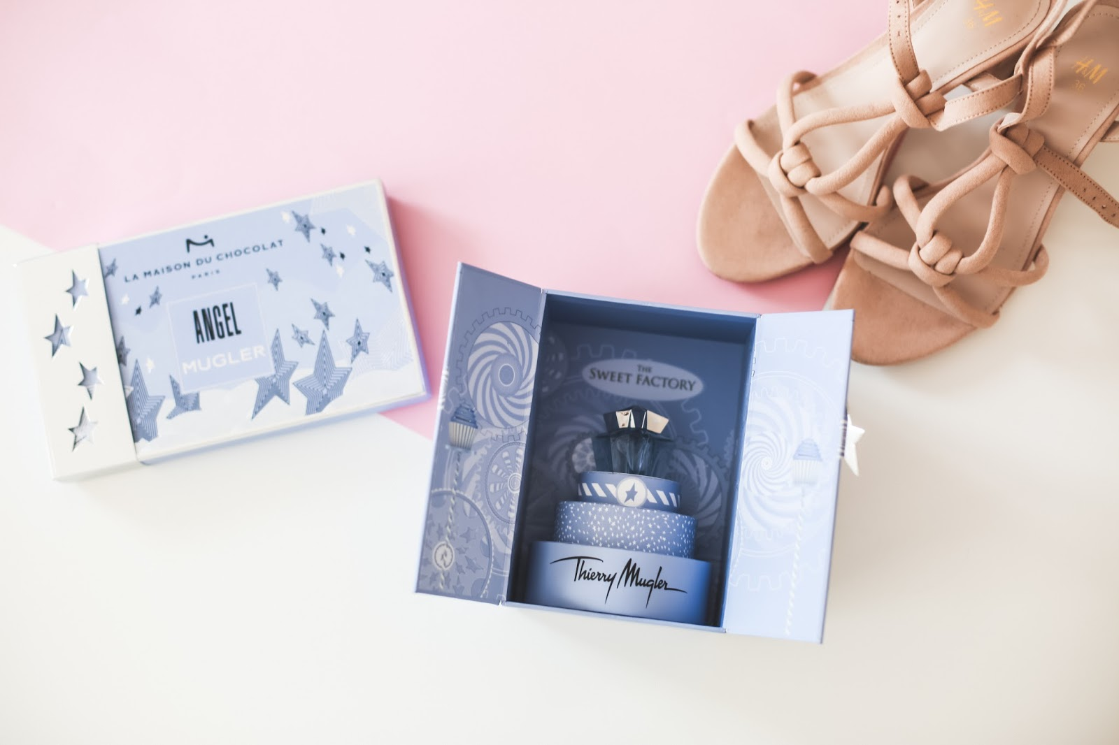 Parfum Angel Thierry Mugler coffret The Sweet Factory